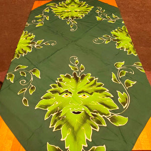 Altar Cloth Green Man