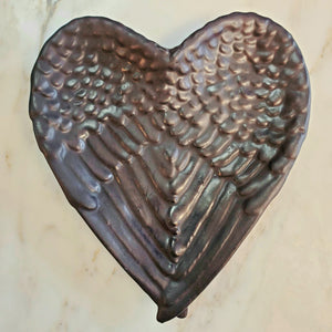 Shungite Angel Wing Dish