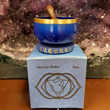 Load image into Gallery viewer, Mini Third Eye Singing Bowl Set