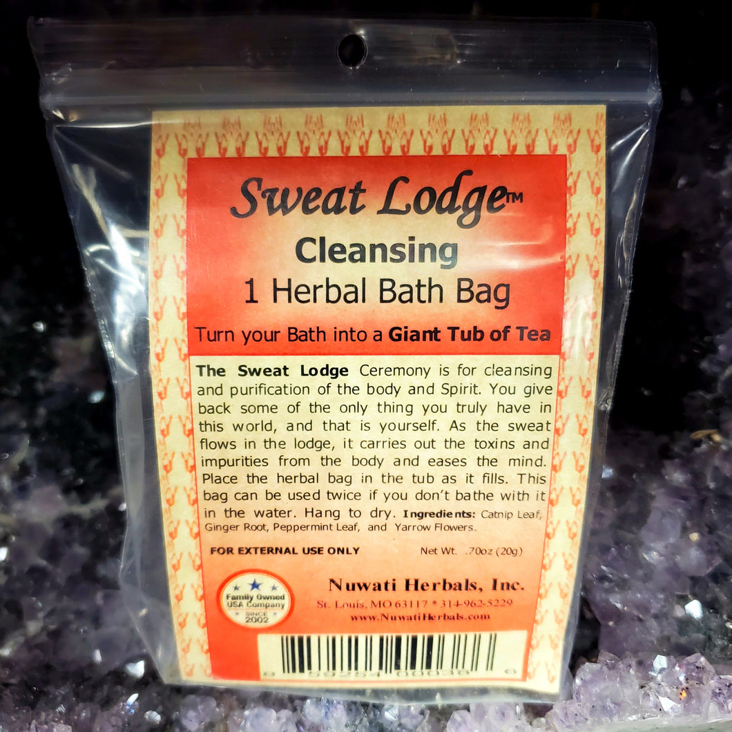 Nuwati Herbals Sweat Lodge Cleansing Herbal Bath Bag