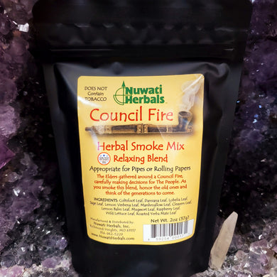Nuwati Herbals Council Fire Herbal Smoke Mix