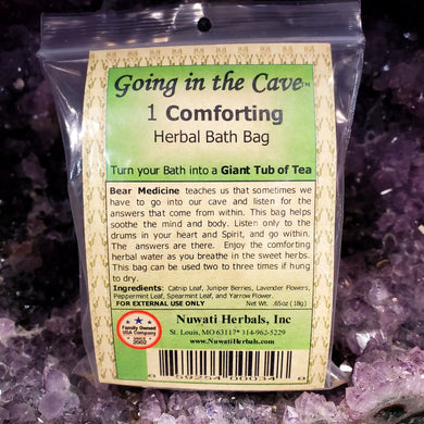 Nuwati Herbals Going in the Cave Herbal Bath Bag