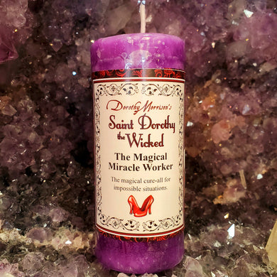 Dorothy Morrison's Saint Dorothy the Wicked Candle