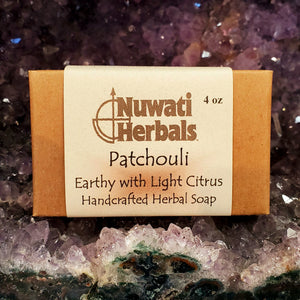 Nuwati Herbals Patchouli Bar Soap