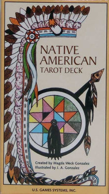 Native American Tarot Deck Created by Magda Weck Gonzalez   Illustrated by J. A. Gonzalez
