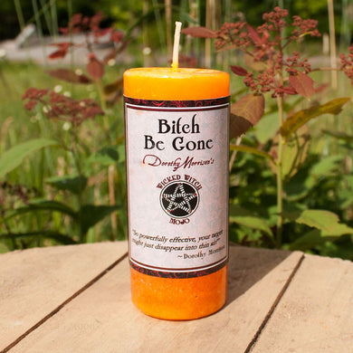 Dorothy Morrison Bitch Be Gone Candle