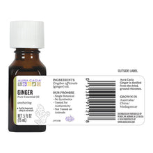 Load image into Gallery viewer, Ginger Essential Oil