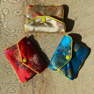 Silk Coin Purse