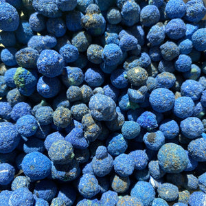 small Azurite blueberries