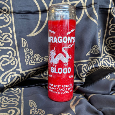 red Dragons blood 7 day candle