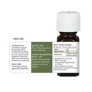 Sweet Marjoram Organic Essential Oil