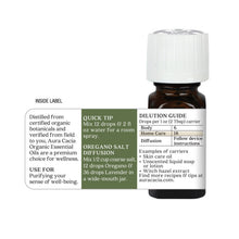 Load image into Gallery viewer, Oregano Organic Essential Oil