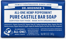 Load image into Gallery viewer, Dr. Bronner's Hemp Bar Soaps