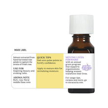 Load image into Gallery viewer, Rose Absolute (in Jojoba Oil) Essential Oil