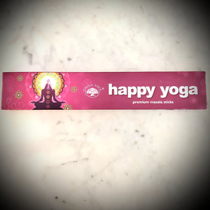 Green Tree Happy Yoga Incense