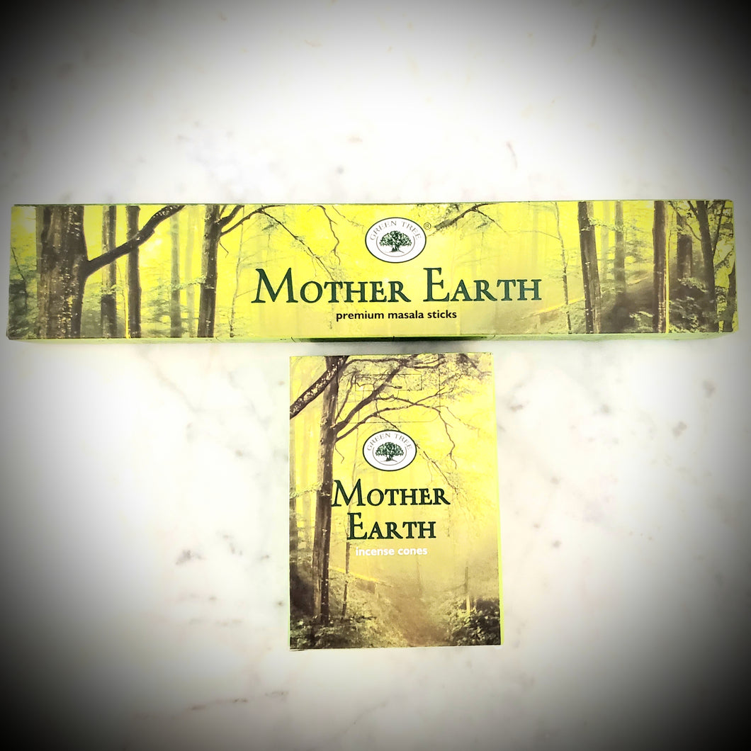Green Tree Mother Earth Incense