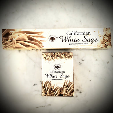 Green Tree White Sage Incense