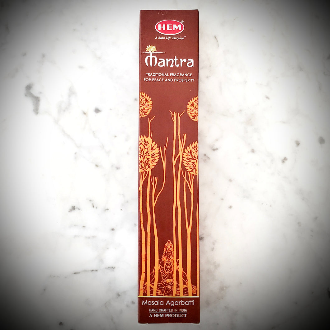 Hem Mantra Incense
