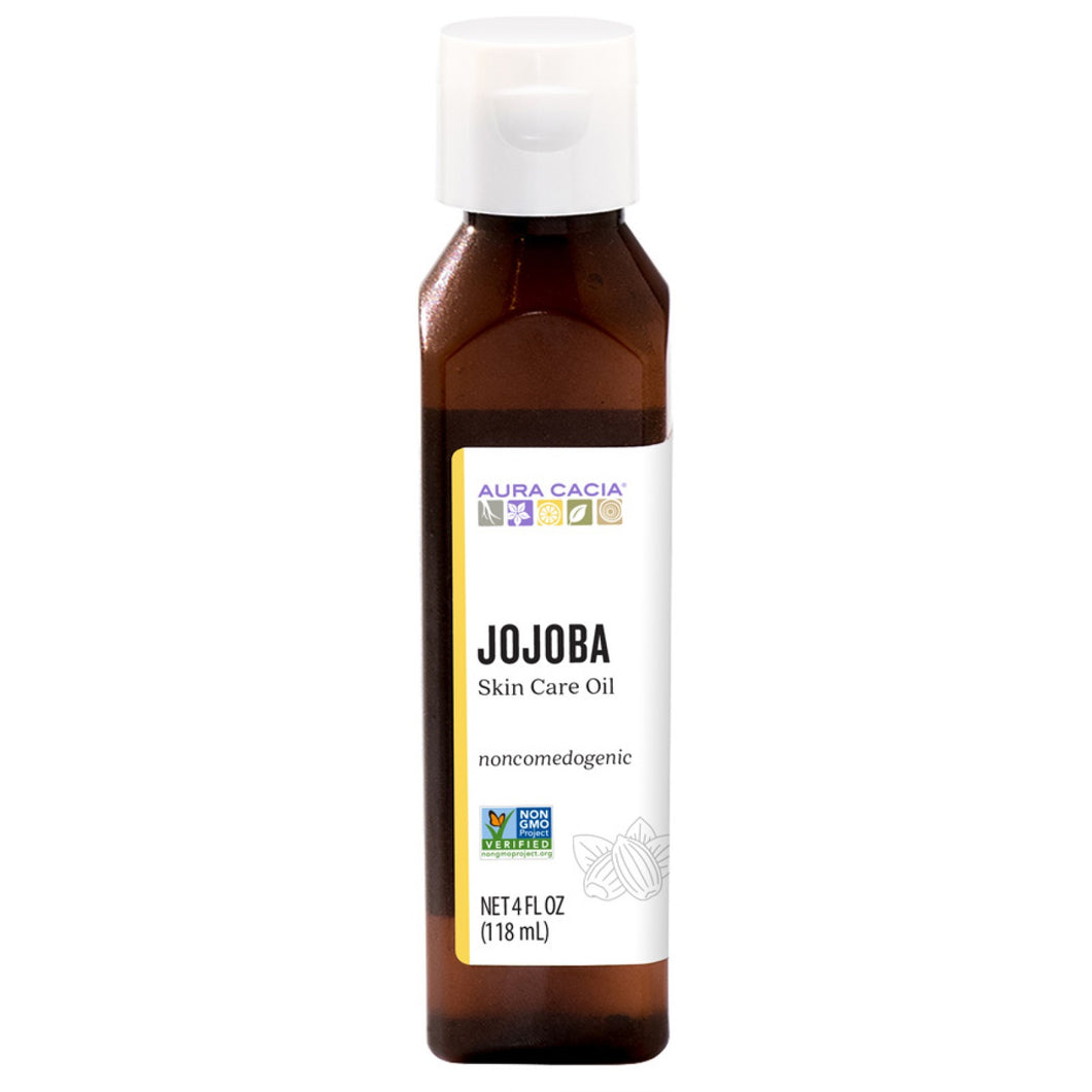 Aura Casia Jojoba skin care oil 4 fl oz bottle