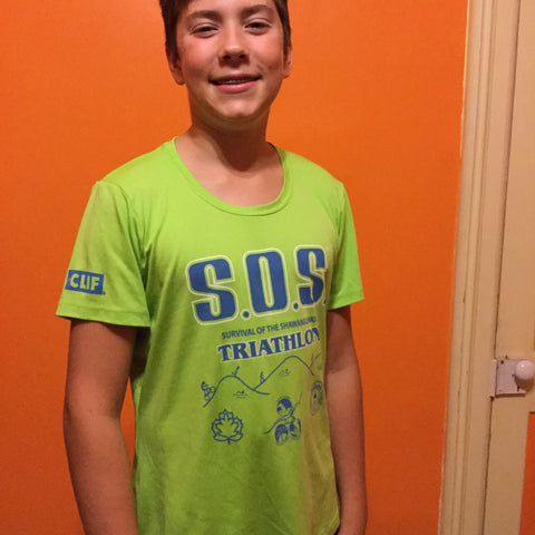 SOS Tshirts (Green 2017 Volunteer shirt)