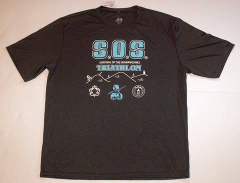 SURVIVOR SOS Shirt (Unisex, Performance fabric)