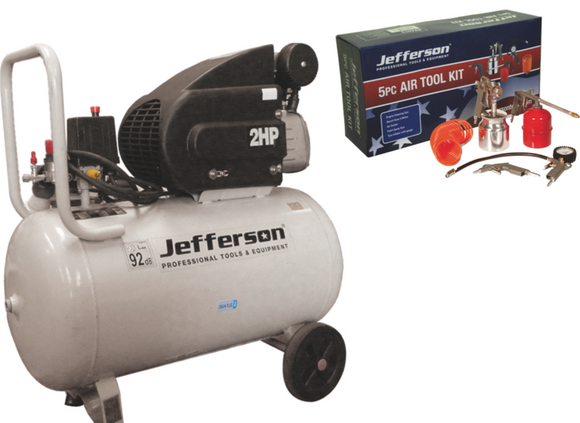 Jefferson 50 Litre 2HP Compressor 230V