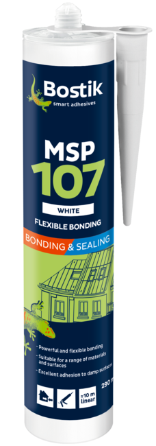 Bostik Msp107 White 290Ml Cartridge
