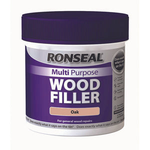 Ronseal Multi Purpose Wood Filler Tub 465g Oak