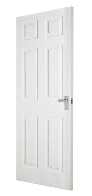 Indoors Leitrim Moulded 6P Text Door 80X34X44Mm W Label