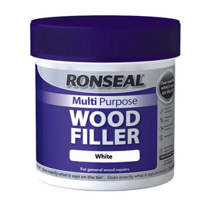 Ronseal Multi Purpose Wood Filler Tub 465g White