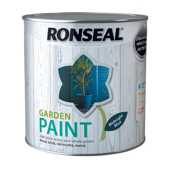 Ronseal Garden Paint 2.5L Midnight Blue