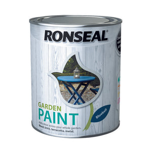 Ronseal Garden Paint 750ml Bluebell