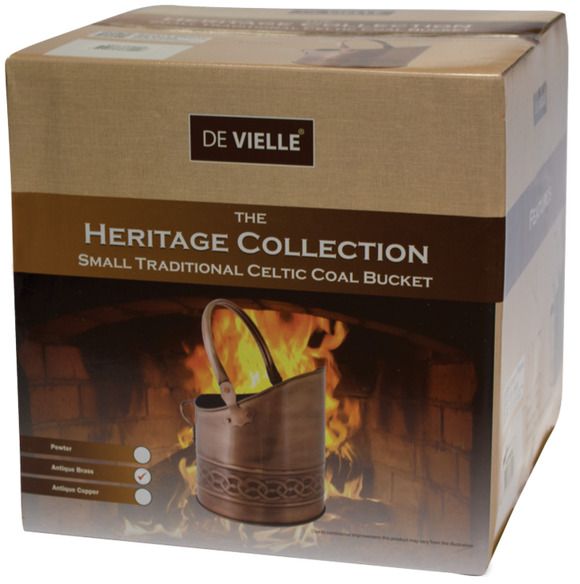 De Vielle  Heritage Celtic Traditional Bucket Ant Brass Finish