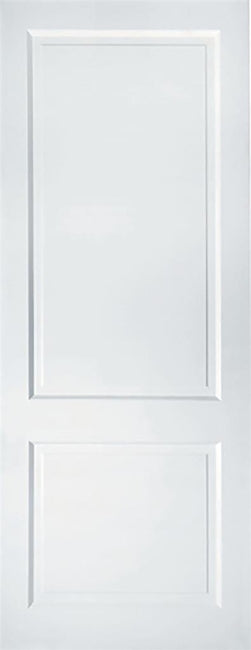 Indoors Primed Auburn Solid White 78 X 30 X 44Mm 2 Panel
