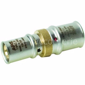 APE Ap103 Straight Reduce  Coupler - Ø40 (4.0) X Ø26 (3.0)
