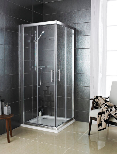 900 X 900 Corner Entry Shower Door (Enclosure) 6mm