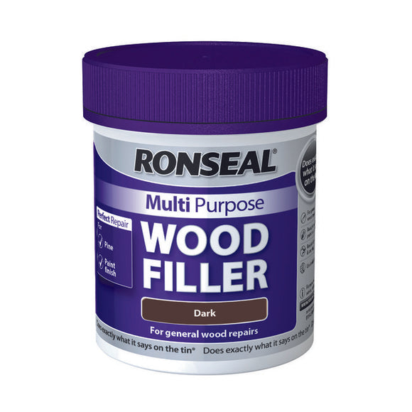 Ronseal Multi Purpose Wood Filler Tub 250g Dark