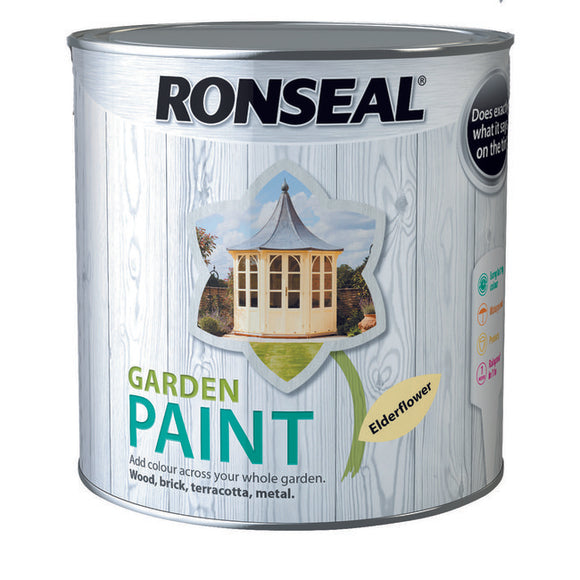 Ronseal Garden Paint 2.5L Eldferflower
