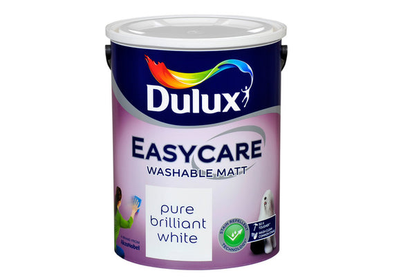 Dulux Easycare Pure Brilliant White 5L