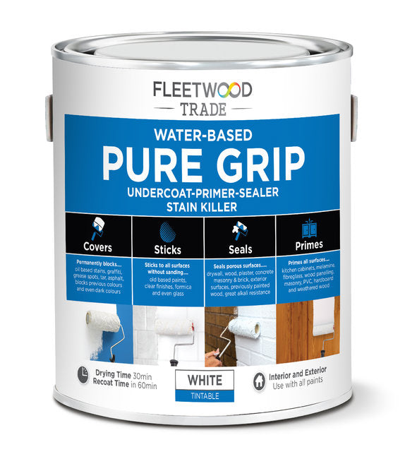 Fleetwood Pure Grip Water Based Primer 1Ltr
