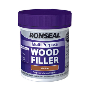 Ronseal Multi Purpose Wood Filler Tub 250g Medium