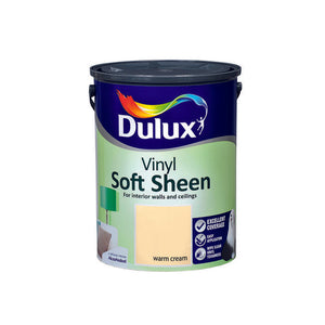 Dulux Vinyl Soft Sheen Warm Cream  5L