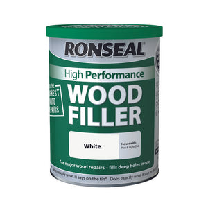 Ronseal High Performance Wood Filler 1kg White