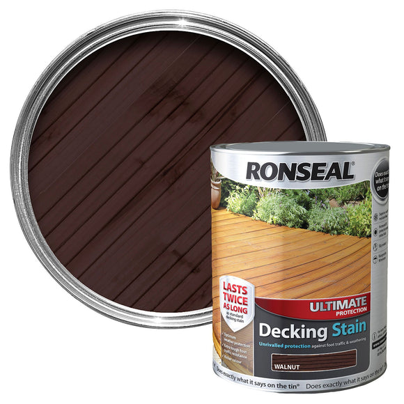 Ronseal Decking Stain Ultimate Protection 2.5L Walnut