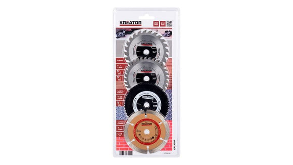 Varo Pack 4 Mini Circular Saw Blades