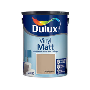Dulux Vinyl Matt Warm Sands 5L