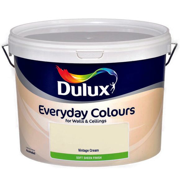 Dulux Vinyl Soft Sheen Vintage Cream  10L