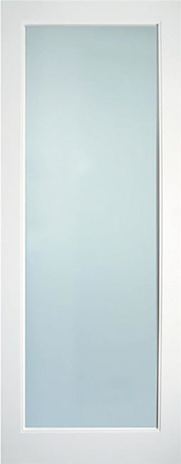 Indoors Kenmore White Primed Lamsafe Glazed Door 80X32