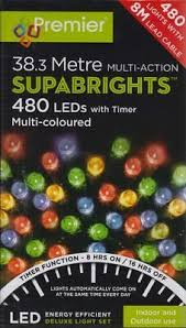 Supabright Multi Action 480 Multicolour LED Lights
