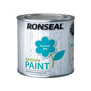 Ronseal Garden Paint 250ml Summer Sky